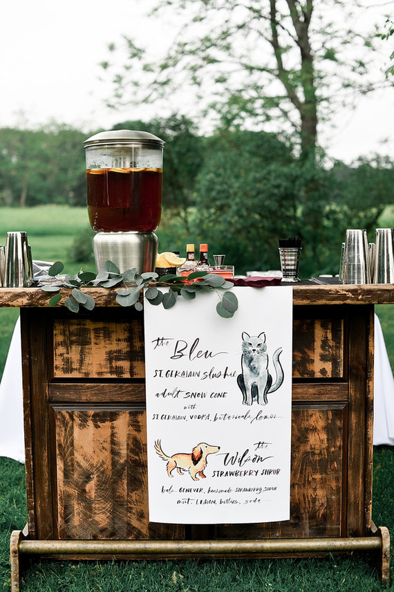 East Coast summer foodie wedding