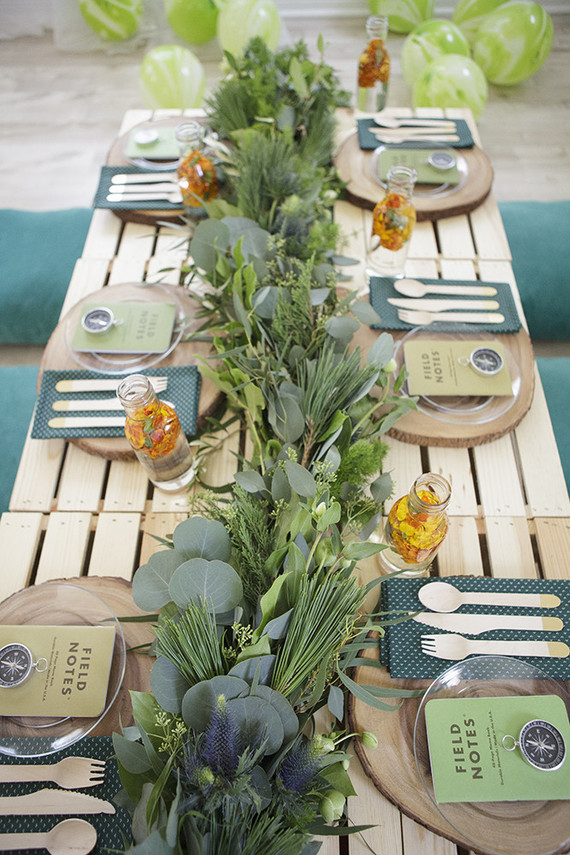 National Parks Inspired Birthday Party Ideas Wedding
