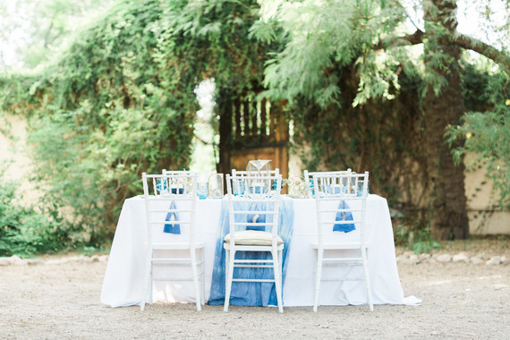 Bohemian indigo wedding inspiration