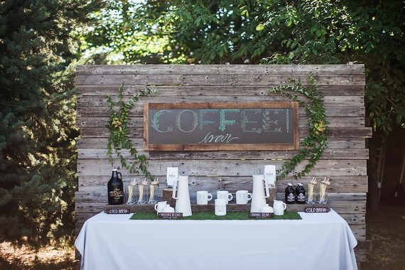 Rustic Coffee Bar Wedding Party Ideas 100 Layer Cake