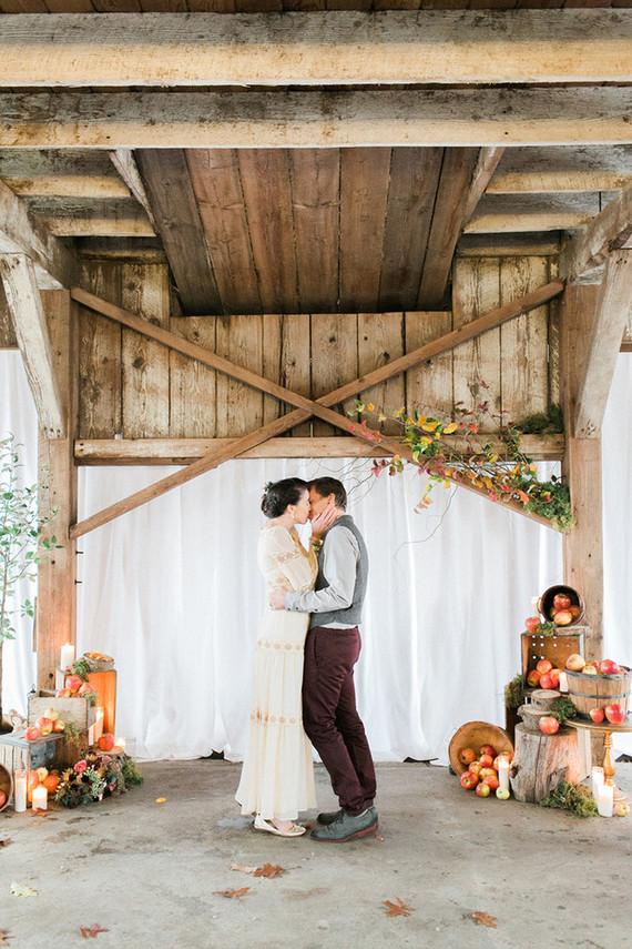 Fall Wedding Ceremony Wedding Amp Party Ideas 100 Layer Cake