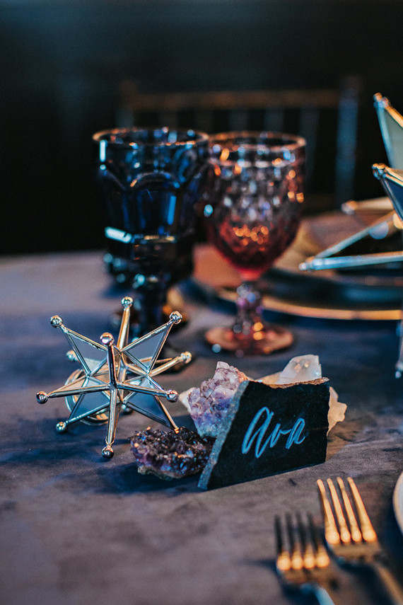 Moon themed wedding inspiration