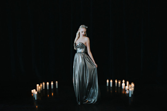 Moody wedding ceremony inspiration
