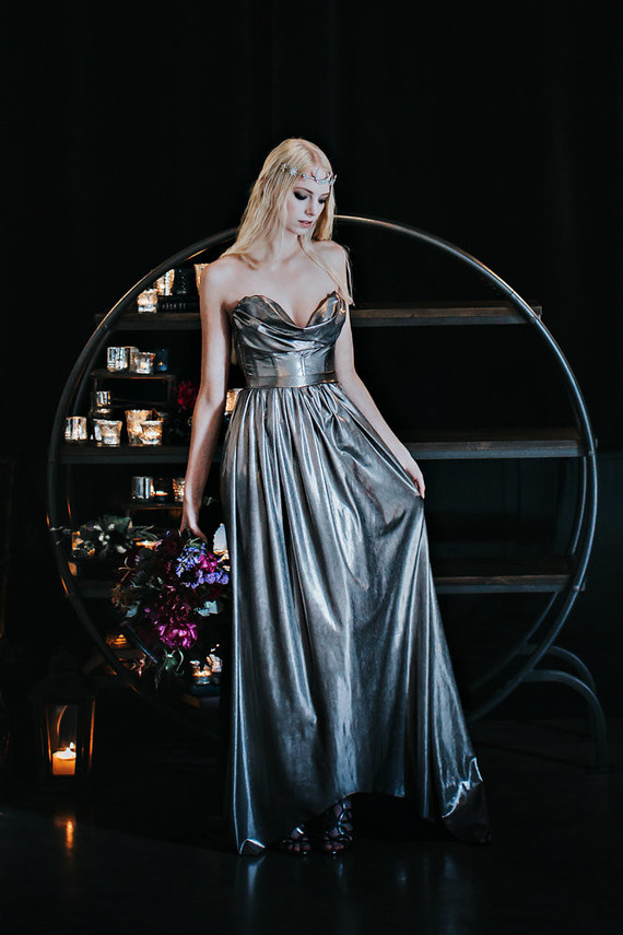 Silver Lady Evelyn UK wedding gown