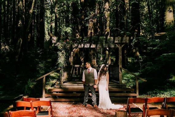Forest wedding