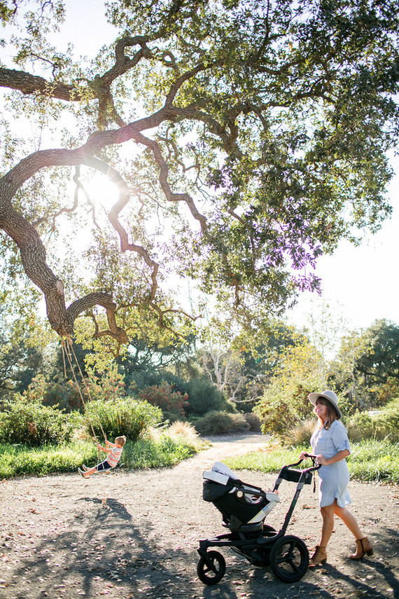 A day at a vineyard with Orbit stroller
