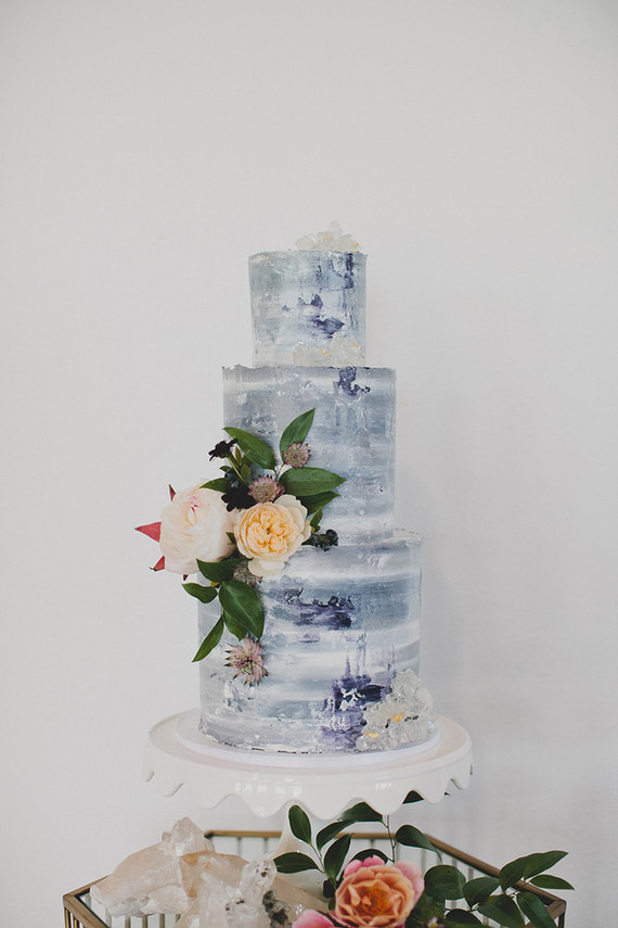 Modern winter wedding cake   Wedding & Party Ideas   100 ...