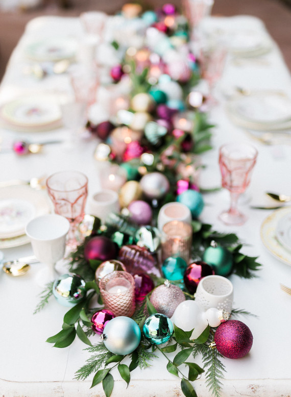 Modern holiday decor ideas wedding party