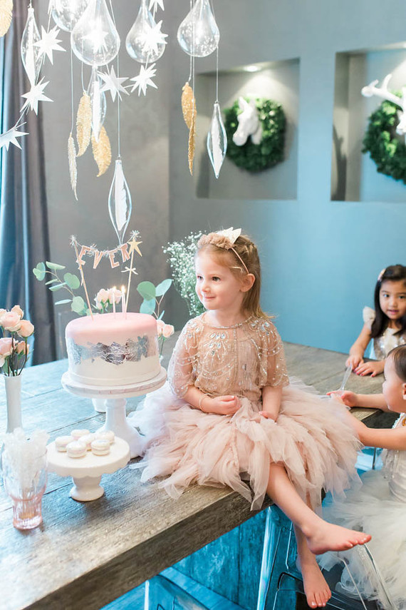 Swan Lake birthday party