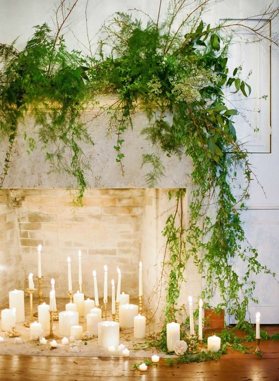 Romantic wedding altar wedding party ideas 100 layer for Altar wall decoration