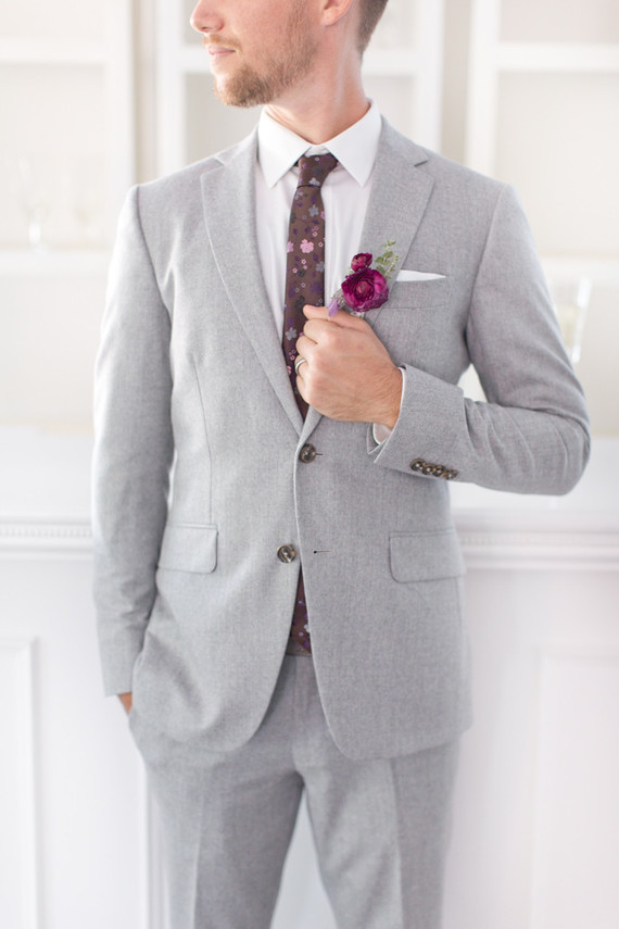 Groom's fashion