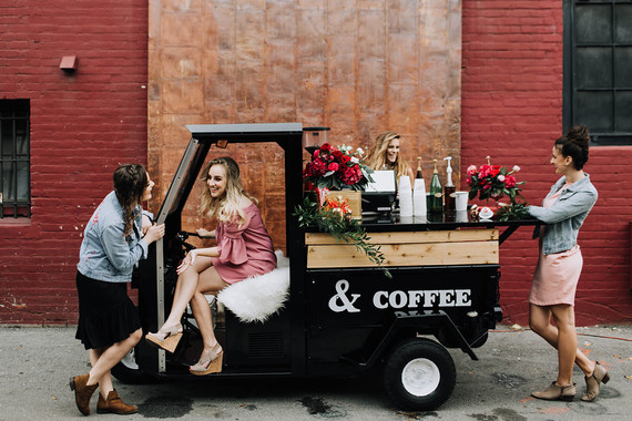 Coffee cart