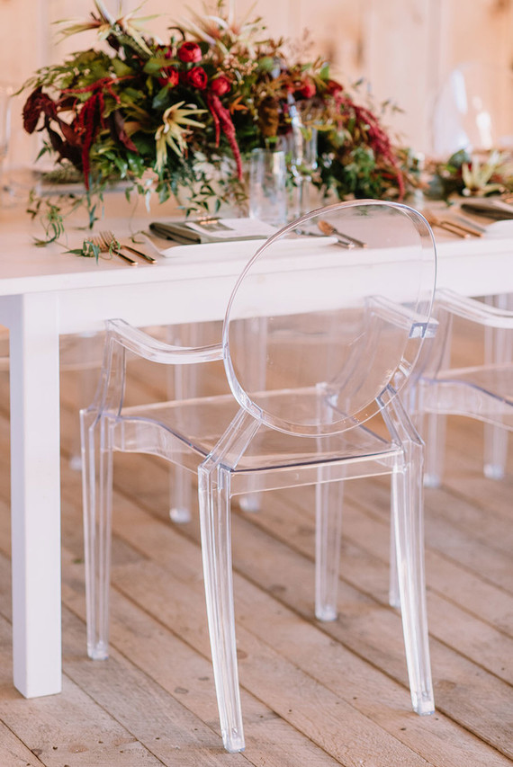 Modern Ghost Chairs Wedding Amp Party Ideas 100 Layer Cake