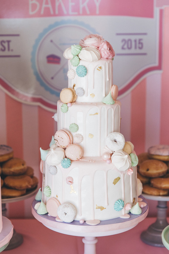 wedding cakes los angeles prices%0A Donut Wedding Cake Los Angeles   Donut and macaron cake wedding party ideas  layer