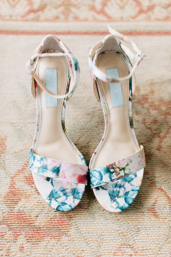 BHLDN bridal shoes