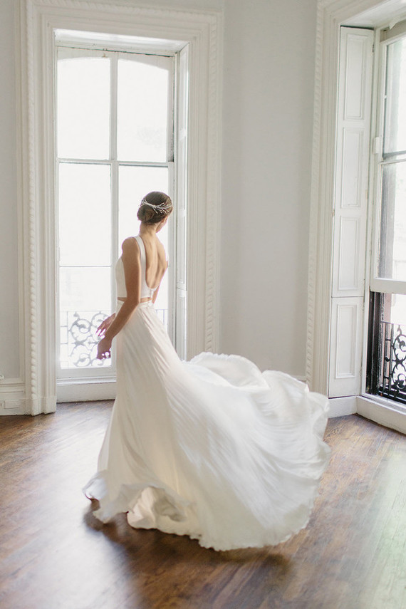 Alexandra Grecco wedding gown