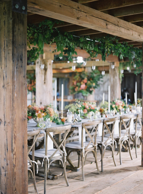 Floral table inspiration with Floret Flower Farm