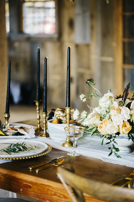 Rustic Modern Tablescape Wedding Party Ideas 100