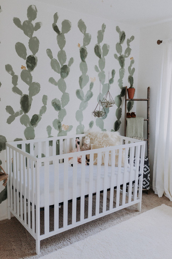 High Desert inspired girls nursery