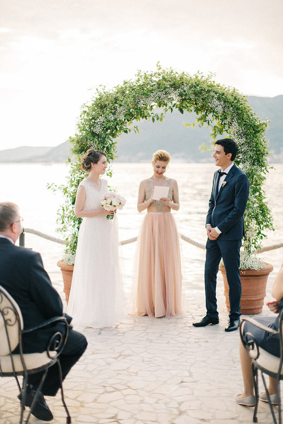 Intimate Spring Wedding in Montenegro