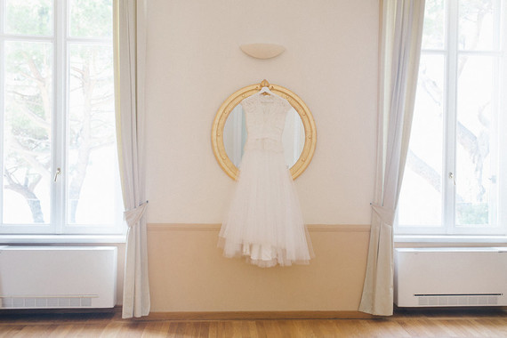 David Fielden wedding dress