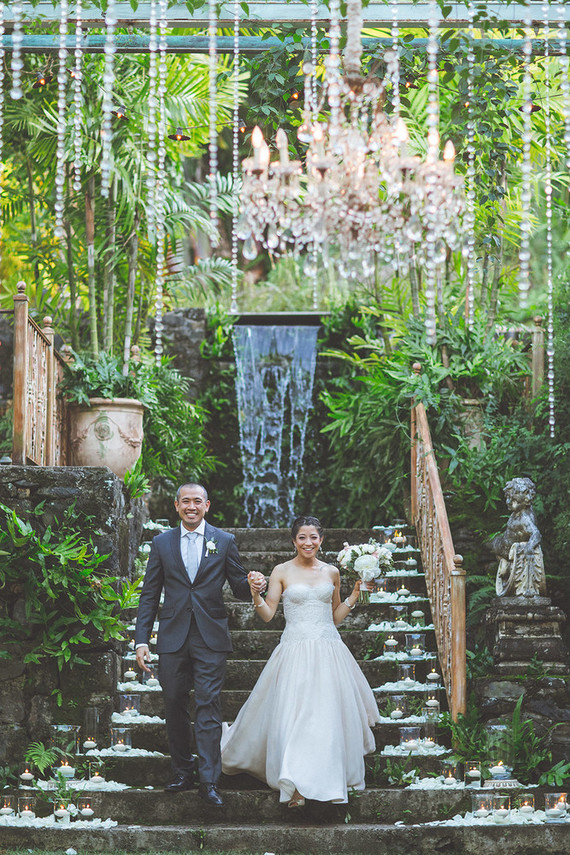 Historic Haiku Mill wedding in Maui