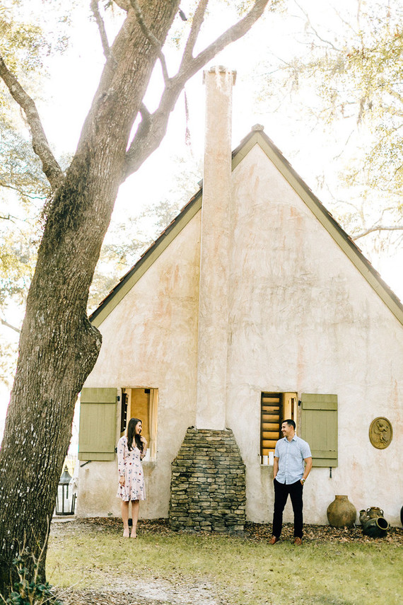 RiverOaks Charleston engagement shoot
