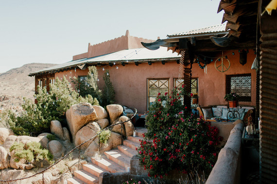 Desert wedding venue