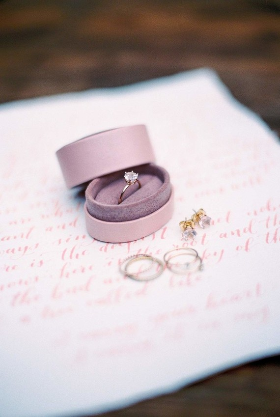 Romantic wedding rings