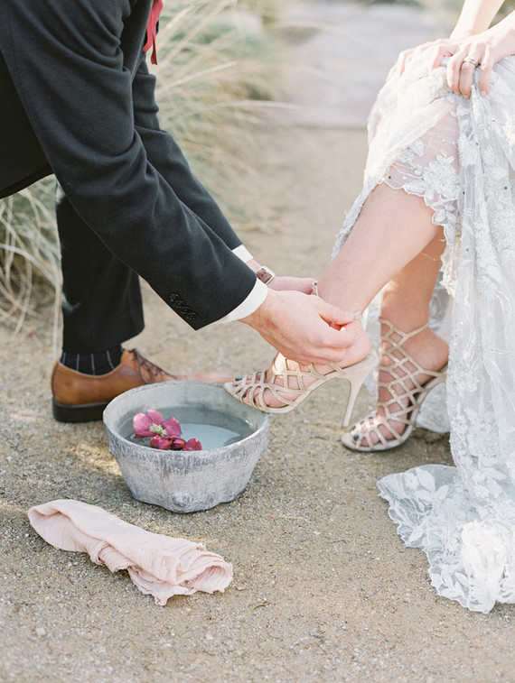 Foot Washing Ceremony Wedding Amp Party Ideas 100 Layer Cake