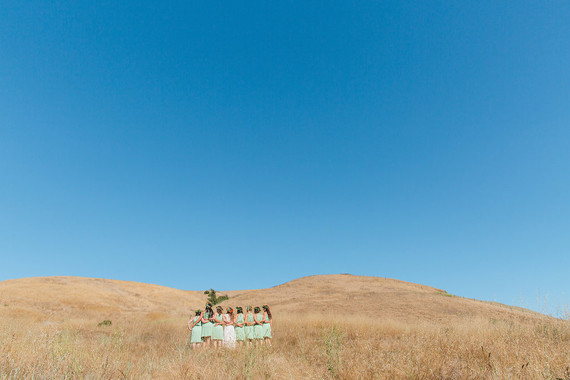 California farm wedding