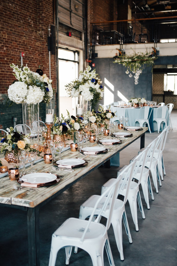 Industrial Modern Tablescape Wedding Amp Party Ideas 100