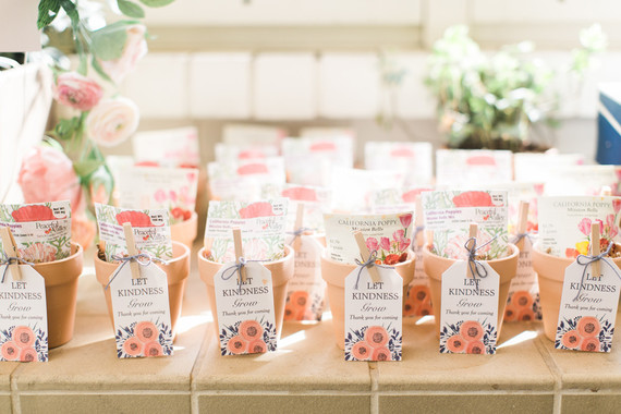 Floral Party Favors Wedding Party Ideas 100 Layer Cake