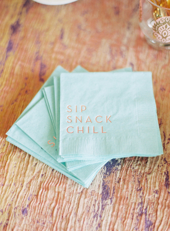 Cocktail napkins