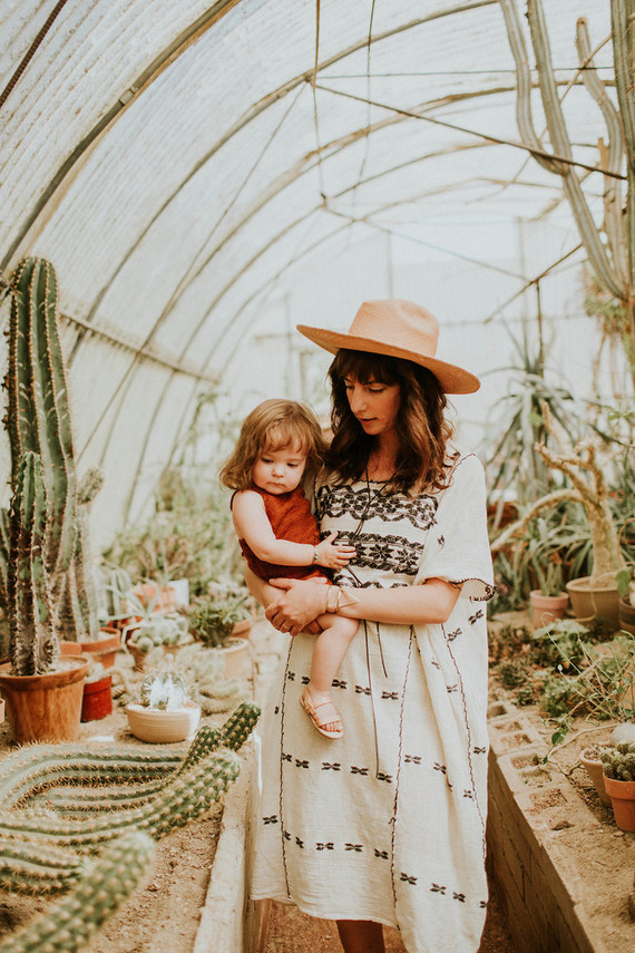 bohemian mother-daughter photos