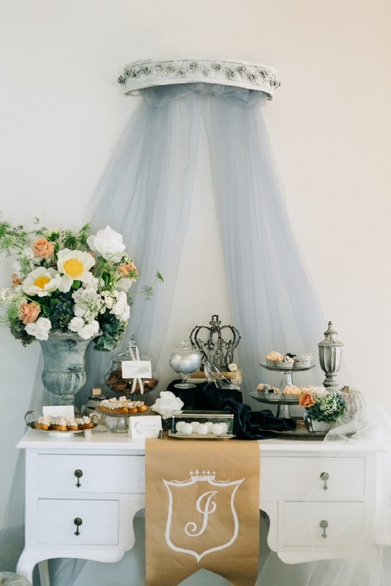 Rustic modern Cinderella party