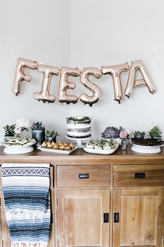 Fiesta taco party 2nd birthday
