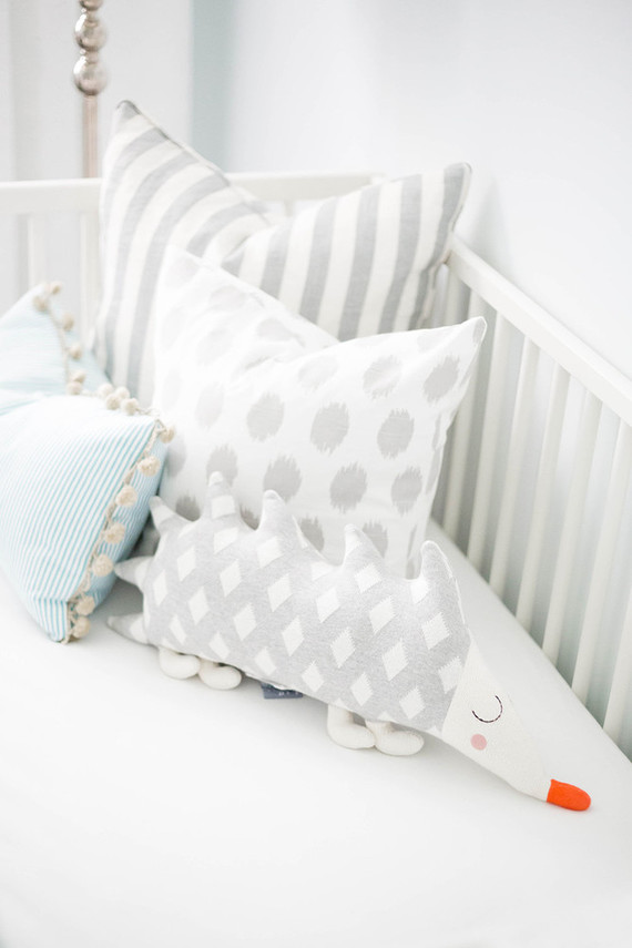Neutral white nursery design