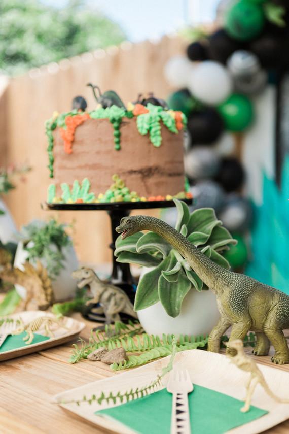 Modern Prehistoric Dinosaur 4th Birthday Wedding Amp Party