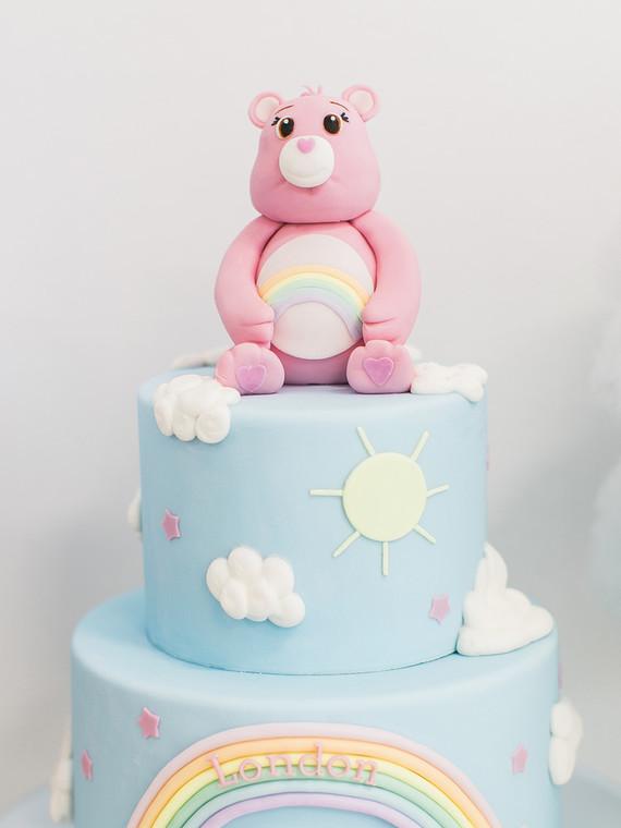 Care Bear Birthday Cake Wedding Party Ideas 100 Layer Cake