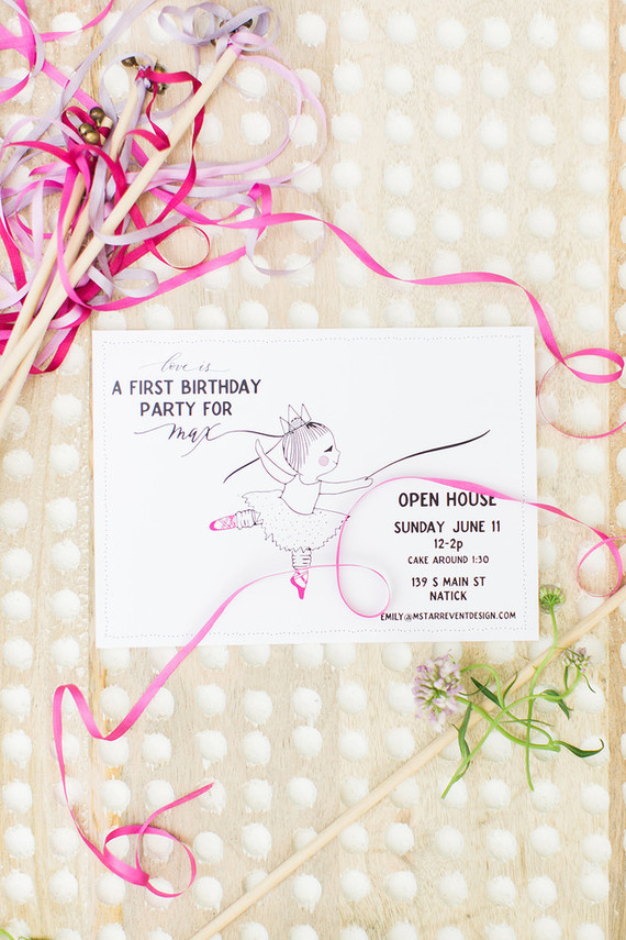 Magical birthday invites
