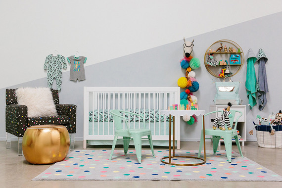 Bright boy's nursery ideas from the Oh Joy for Target fall 2017 line