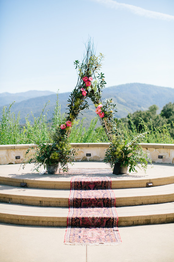 Boho ceremony/altar ideas