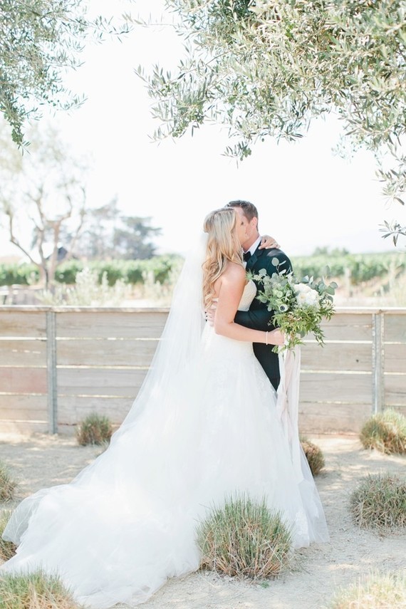 White farmhouse wedding in San Luis Obispo