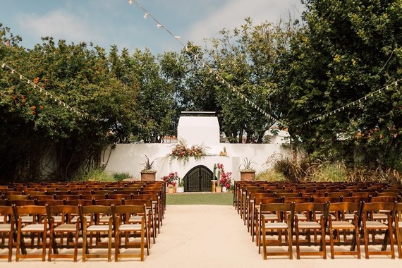 Casino San Clemente wedding