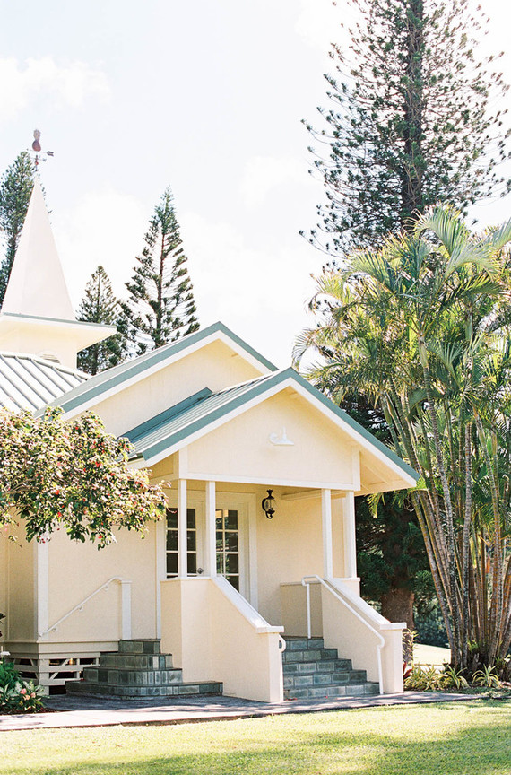 The Steeple House - Maui Wedding venue