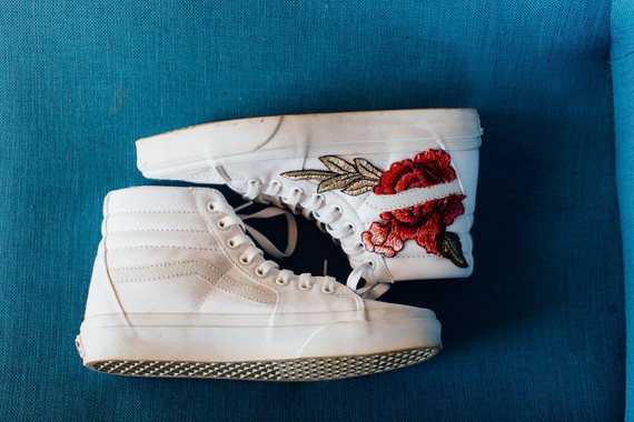 Bridal high tops