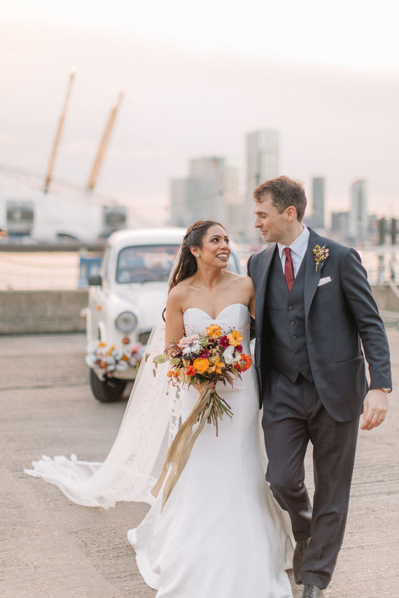 Unique luxe Rajisthani-inspired wedding in London