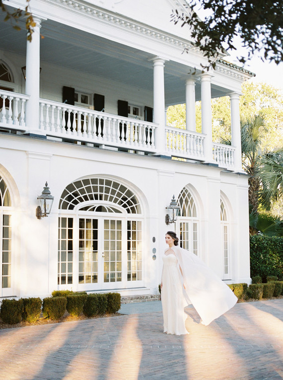 Dreamy blush Charleston wedding inspiration at Lowndes Grove Plantation