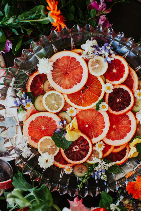Bright floral bridesmaid brunch ideas